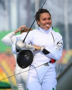 Chloe Esposito Fencing at Rio Olympic Games