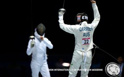 Fernon and Carrier return to competition this weekend