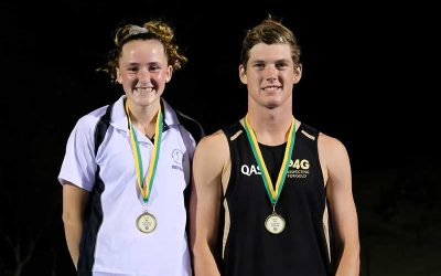 Teenage sensations win senior Australian titles
