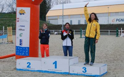 Carrier on the podium in Poland Open