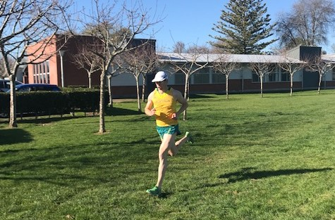 Ed Fernon Running