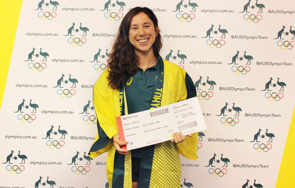 Image of Marina Carrier selected to the Australian Olympic Team