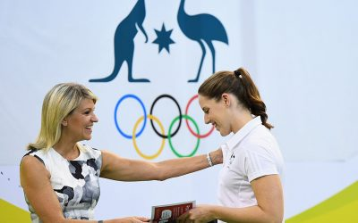 Chiller recognised by IOC for gender equality in sport