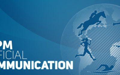 Cairo to host 2021 pentathlon and laser run World Champs