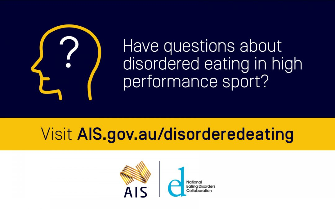 MPA Endorses New AIS Position Statement on Disorder Eating in High Performance Sport