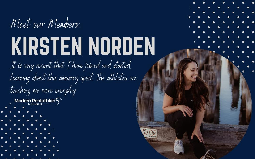 Meet our members: Kirsten Norden