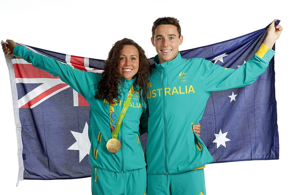 Chloe and Max Esposito at Rio 2016